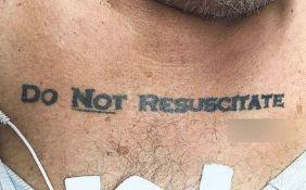 Zbog tetovaže doktori nisu znali da li da oživljavaju pacijenta