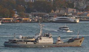 VIDEO: Spaseni svi članovi posade potonulog ruskog broda