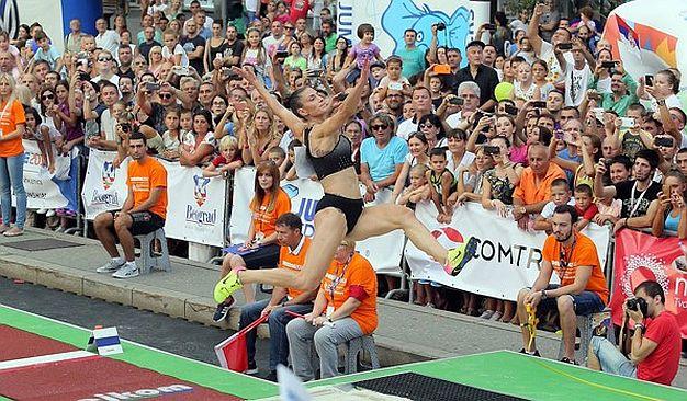 Španovićeva najdoslednija atletičarka, medalja za medaljom