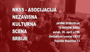 Diskusija o Asocijaciji NKSS  28. aprila u CK13