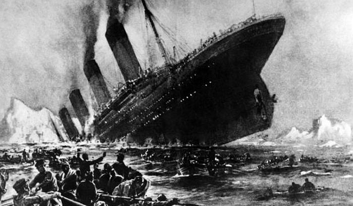 Titanik potonuo zbog požara?