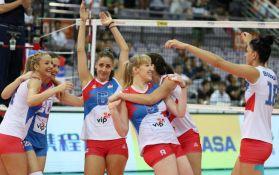 Odbojkašice Srbije u polufinalu finalnog turnira Gran prija