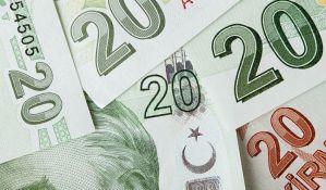 Berza valuta u Londonu ostala bez turskih lira