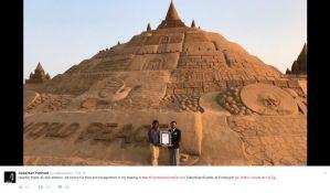 Najveći zamak od peska visok je 14 metara