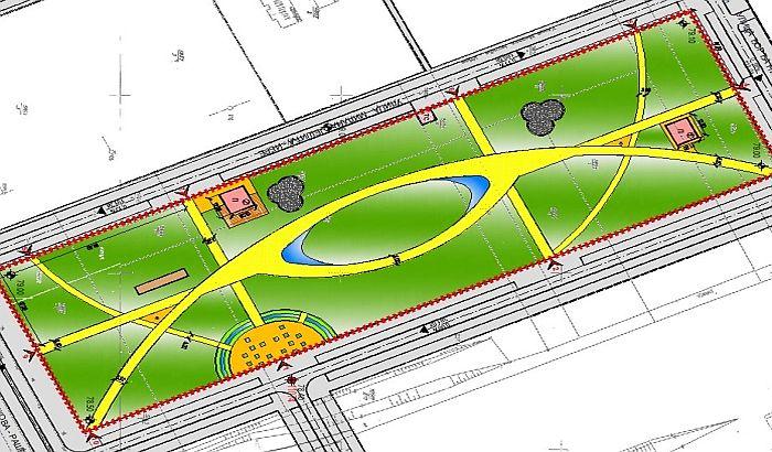 FOTO: Ovako će izgledati park između Detelinare i Novog naselja