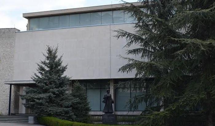 Projekcija emisije o Spomen-zbirci Pavla Beljanskog