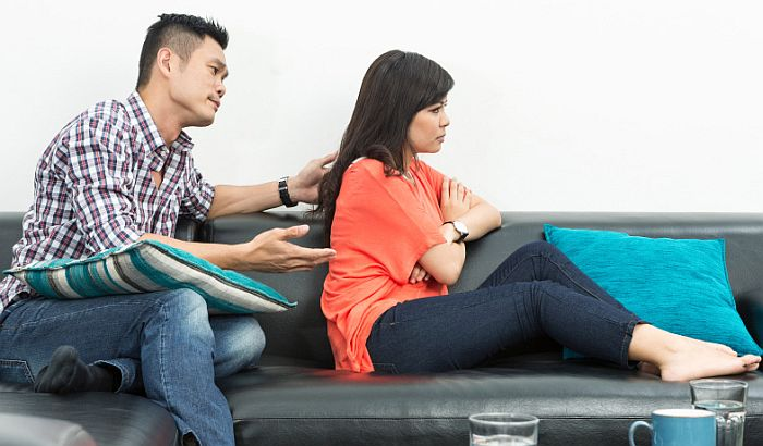 O problemima u vezi pričati sa partnerom, a ne sa prijateljima