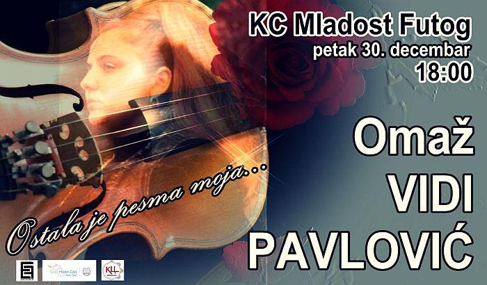Omaž Vidi Pavlović 30. decembra