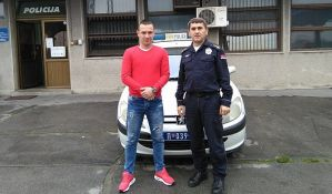 FOTO: Mladi novosadski policajac u civilu sprečio krađu
