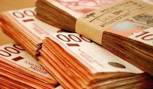 Dinar danas slabiji 0,1 odsto