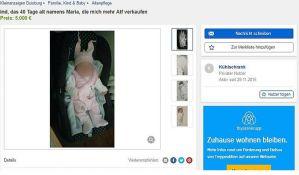 Oduzeto dete ocu koji je hteo da ga proda preko interneta