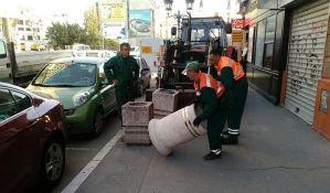 FOTO: Nove korpe za otpatke u centru Novog Sada