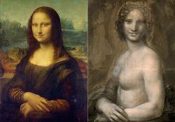 Crtež gole Mona Lize nacrtao je Leonardo da Vinči kao skicu za originalni portret