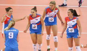 Odbojkašice Srbije superiorno do titule evropskih šampionki