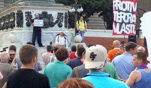 Završen protest Protiv diktature na Trgu Republike