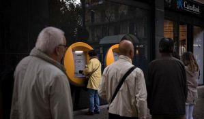 Katalonci podižu novac iz banaka u znak protesta