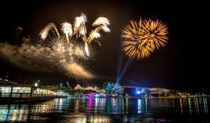 VIDEO: Biciklisti, Rambo Amadeus i vatromet otvorili Sea star festival u Umagu