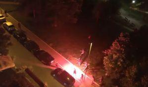 VIDEO: Masovna tuča navijača u Beogradu