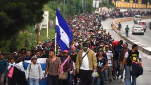 Migrantski karavan: Meksiko šalje policiju na južnu granicu