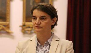Brnabić: Spremna sam da pomognem direktorki Kanala 9, ali ne smem da se mešam u sudske odluke