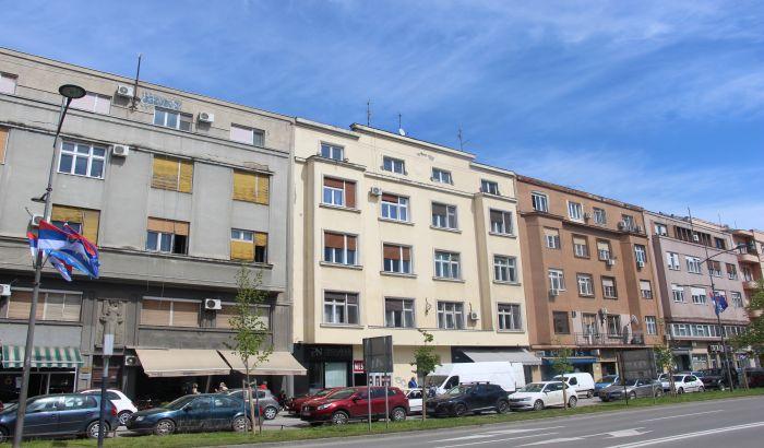 Sređuju se fasade četiri zgrade na Bulevaru Mihajla Pupina