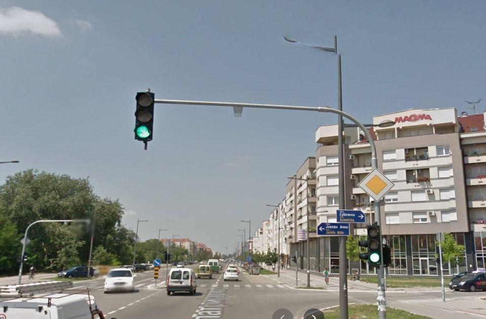 Neradno vreme semafora na Telepu: Malo-malo pa u kvaru, nadležni upoznati sa problemom