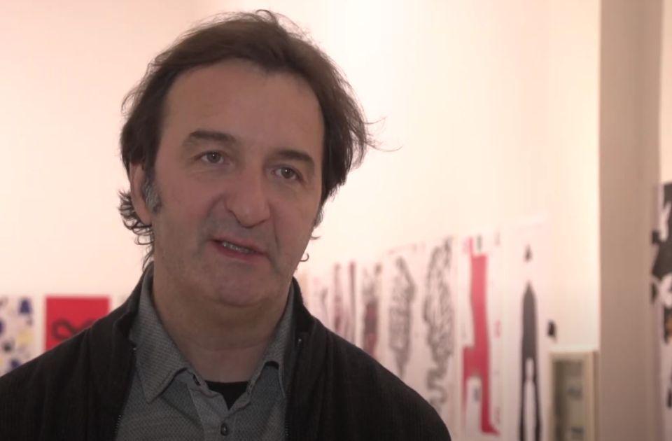 Dekanu novosadske Akademije umetnosti Siniši Bokanu uručena zahvalnica SANU