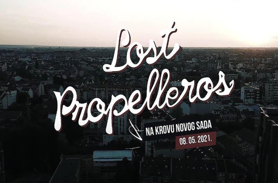 VIDEO: Pogledajte Lost Propelleros-e na krovu Novog Sada