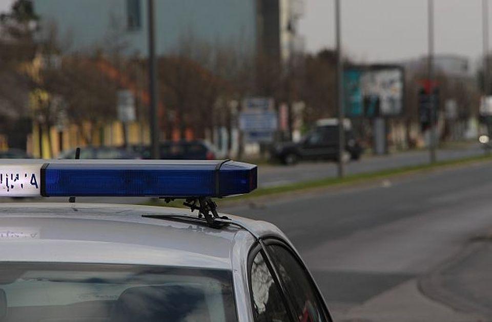 VIDEO: Bežao od policije pa poginuo u sudaru koji je izazvao