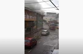 VIDEO: Evakuisano 147 dece iz požara u vrtiću u Vlasotincu