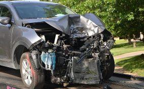 Kikinda: Automobil sleteo sa puta, vozač poginuo na licu mesta