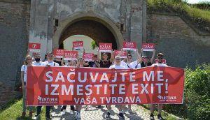 Stranka Istina traži da se Exit izmesti sa Tvrđave
