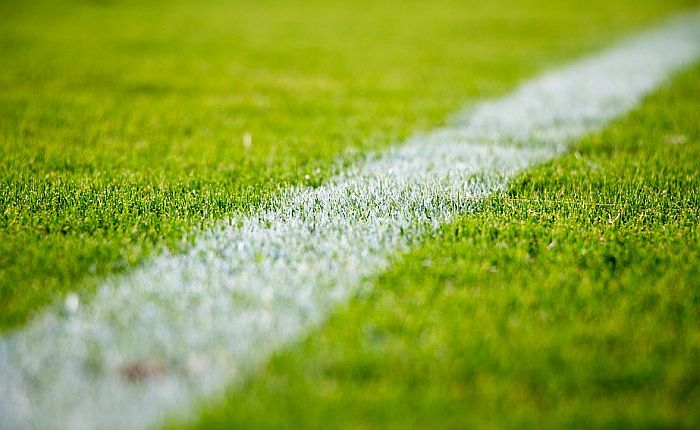 Deci napravio fudbalski teren jer sa njim čiste naselje od plastike