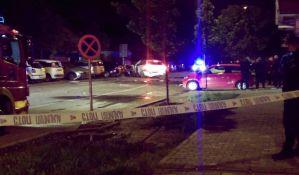 VIDEO, FOTO: Eksplodirao BMW na Detelinari, povređen bivši novosadski policajac