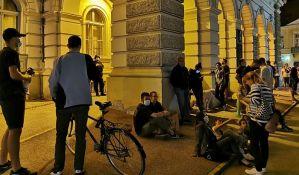 Protest protiv uvođenja policijskog časa i danas u Novom Sadu