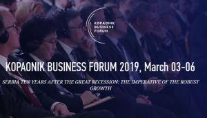 Počinje Kopaonik biznis forum