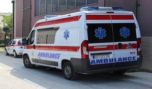 Dvoje povređenih u dva udesa kod kružnog toka u Veterniku