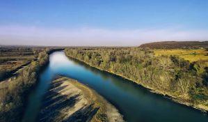 Incident na Bogojavljenskom plivanju zbog ekološkog transparenta