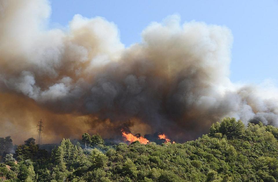 Širi se požar na Peloponezu, osmoro povređenih, izgorelo 20 kuća