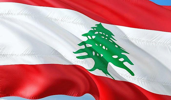 Simboli Beograda večeras u bojama zastave Libana