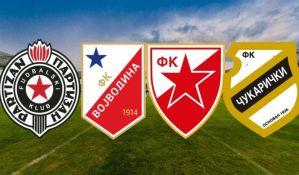 U petak izvlačenje polufinalnih parova Kupa Srbije