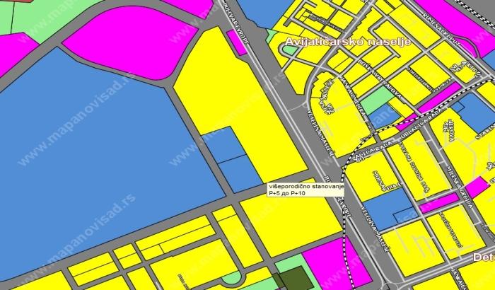 Na mestu kasarne Jugovićevo planirano veliko stambeno naselje