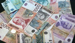Najviše lažnih novčanica od 1.000 dinara