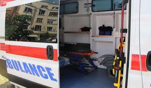 Petoro povređeno u sudaru dva vozila na Novom naselju