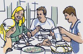 Porodice sve manje jedu zajedno za stolom, ovo su najčešći razlozi