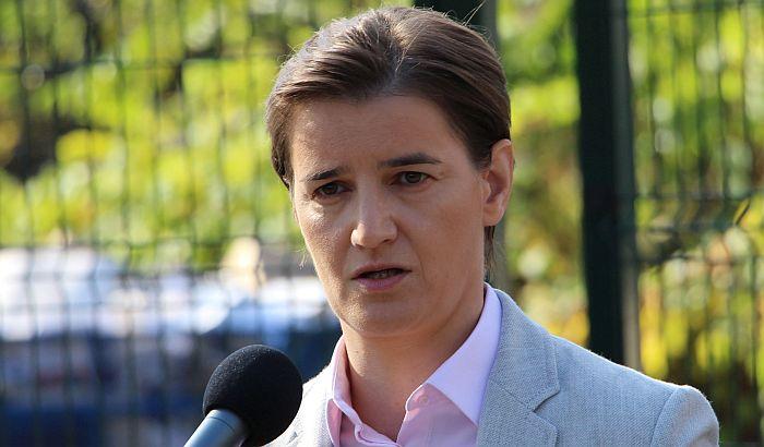 Brnabić: Siniša Mali ostaje ministar, studenti su politički aktivisti
