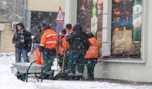VIDEO, FOTO: Zavejan Novi Sad, zimske službe na terenu