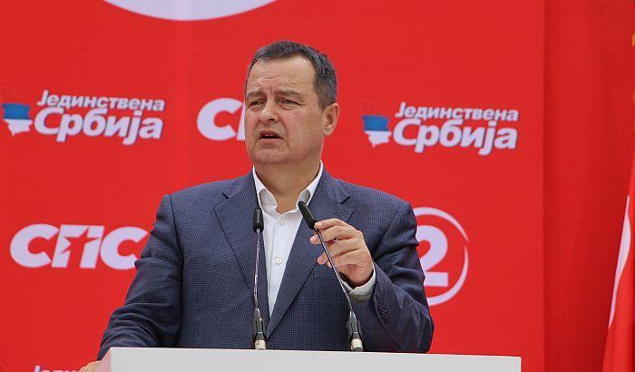 """Dačić: Evropski parlament najviše zanima """"bojkotaška"""" opozicija oko Đilasa"""
