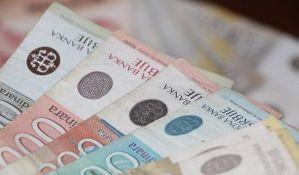 Bruto iznos najniže novčane naknade za nezaposlene uvećan za 500 dinara
