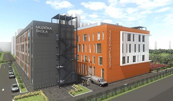 Uskoro nastavak gradnje Muzičko-baletske škole